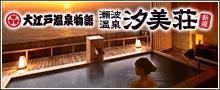 大江戸温泉物語 瀬波温泉 汐美荘
